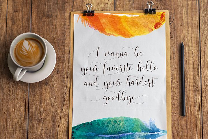 Beautylove Script - Free Font of The Week Design4