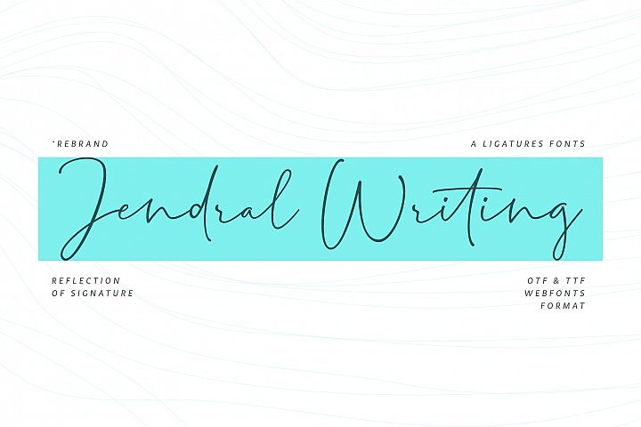 Jendral Writing Latin Pro