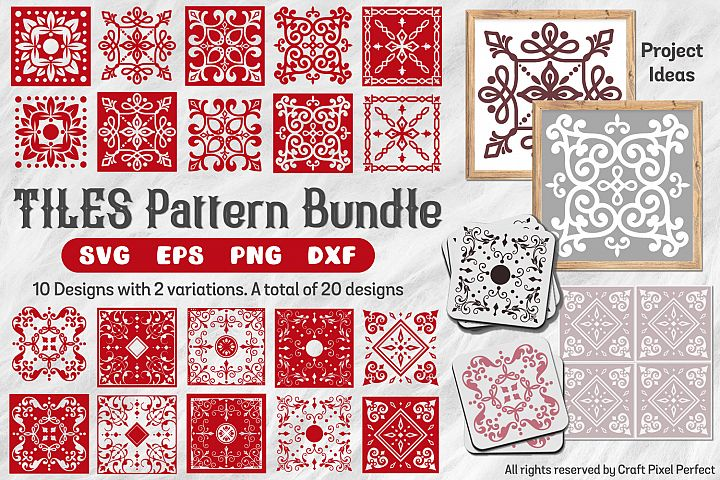 Tile Patterns Bundle