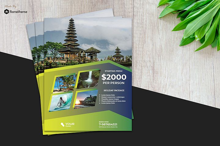Holiday Travel Flyer vol. 05