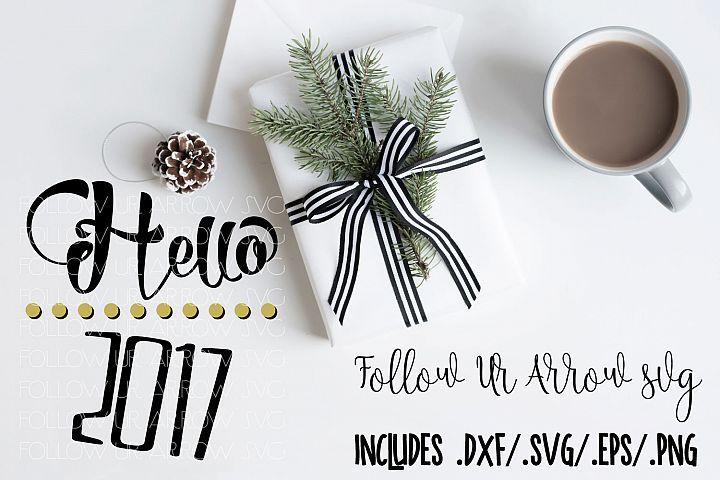 Hello 2017 New Year