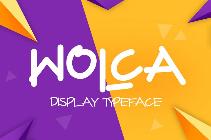 Wolca Display Font Trio