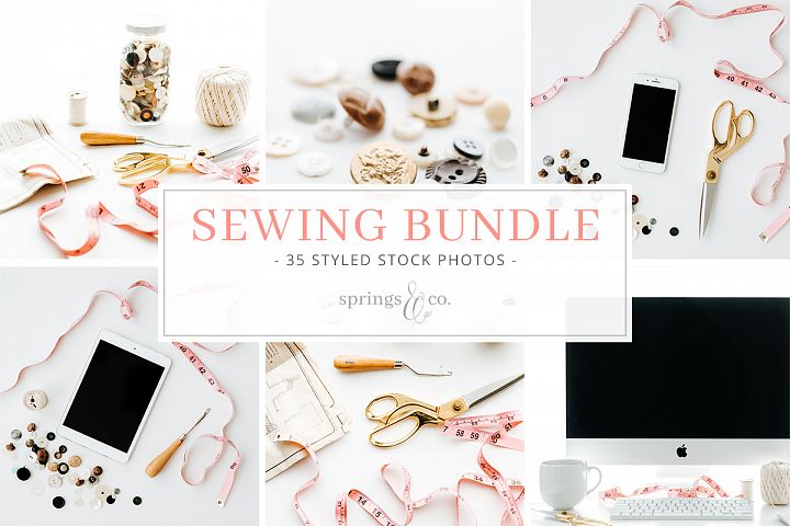 Sewing Stock Photo Bundle