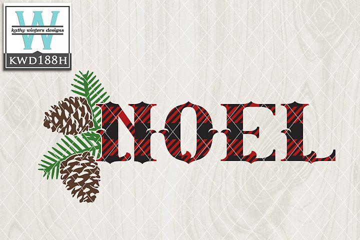 Christmas SVG - Noel