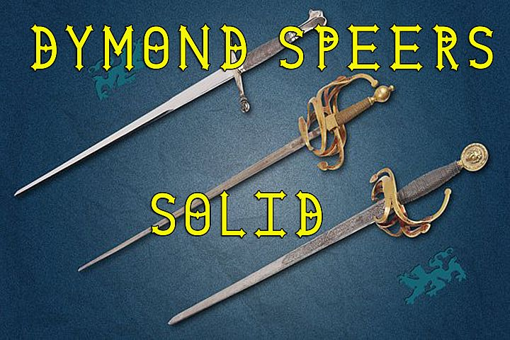 Dymond Speers Solid Type Font