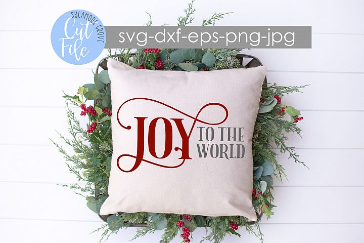 Joy To The World | Christmas SVG