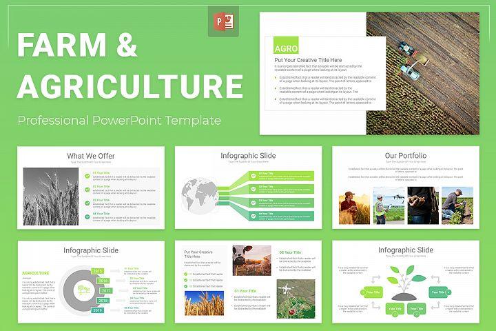 Farm & Agriculture PowerPoint Presentation Template