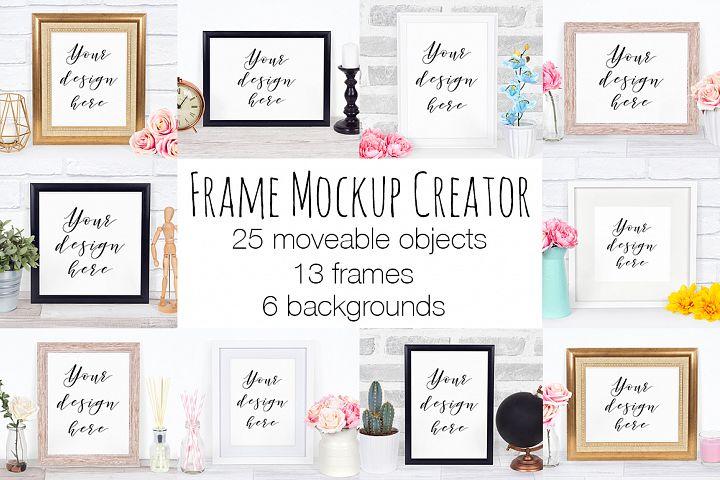 Frame Mockup Scene Creator