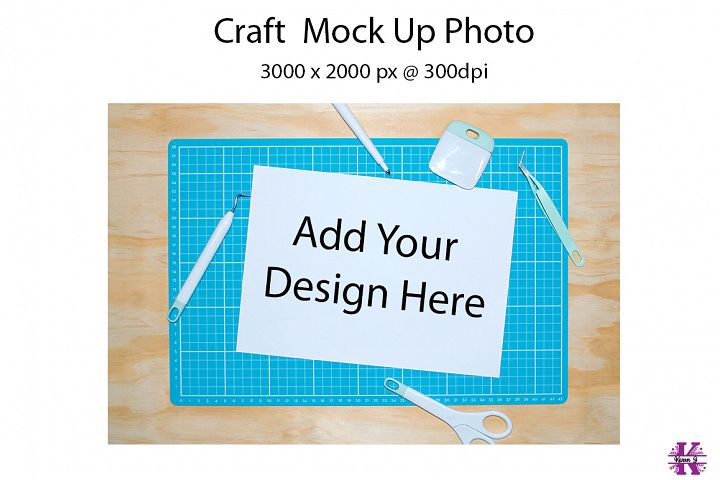 Craft Mock Up Photo