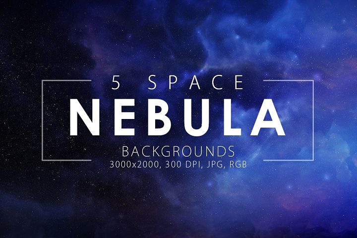 5 Realistic Nebula Backgrounds example