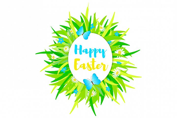 Happy Easter - EPS, Ai, JPG, PNG