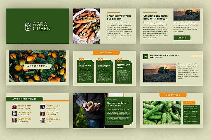 Agrogreen - Plantation Powerpoint