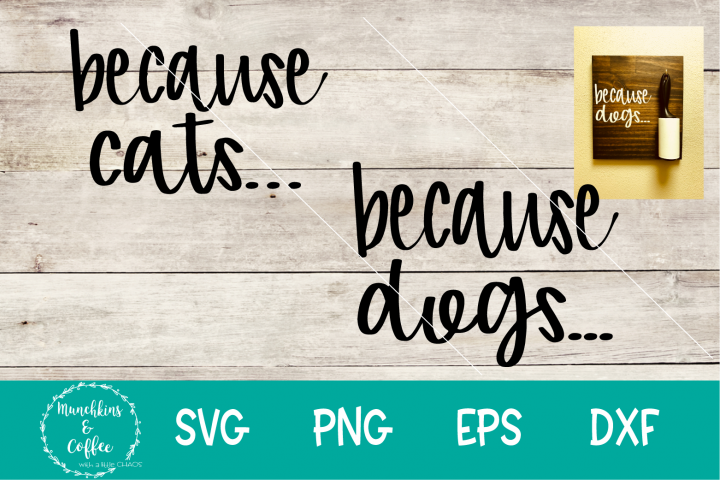 Because dogs/cats...SVG