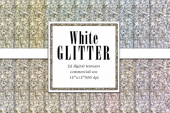 Off White Glitter Texture, Champagne Ivory Snow Background