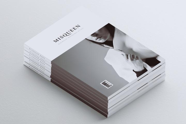 MISQUEEN Minimalist Magazine Styles