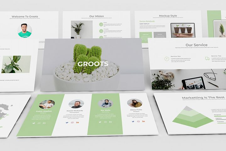 Groot Google Slide Presentation