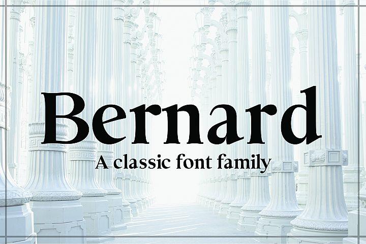 BERNARD, A Classic Typeface