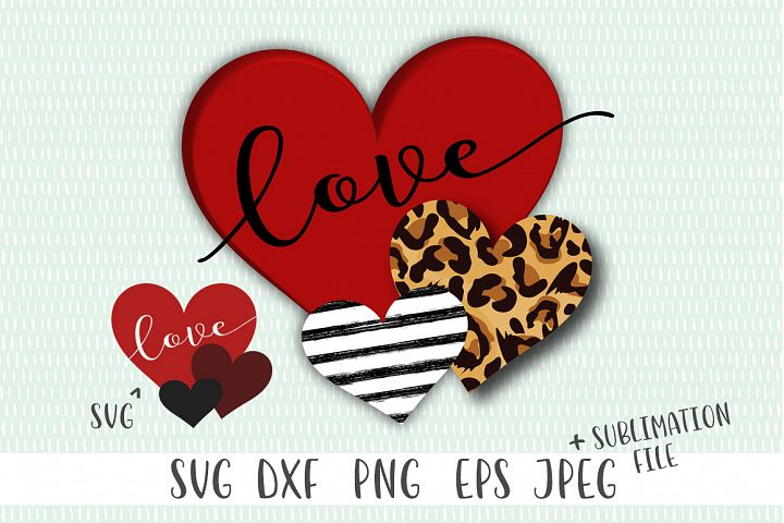 Valentines Day Sublimation File - Valentine Day SVG