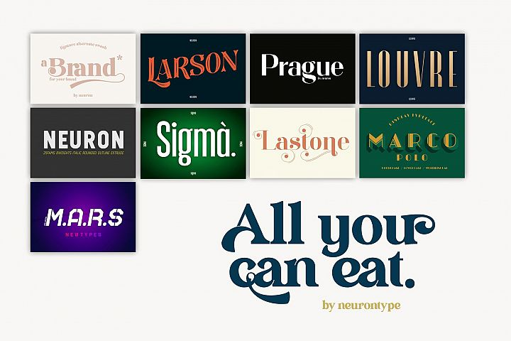 All You Can Eat vol. 1 by neurontype
