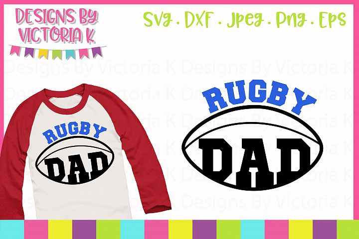 Love rugby, SVG Cut File