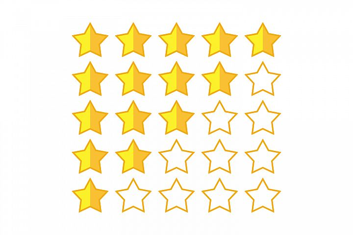 stars rating logo