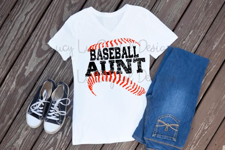 Baseball Aunt