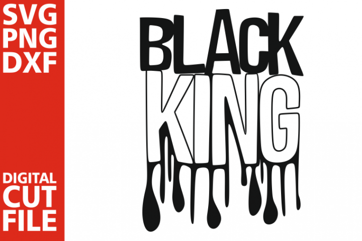 Black King svg,Afro woman svg, Dripping words, Africa svg
