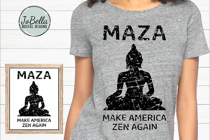 Distressed Buddha SVG, Sublimation Design and Printable
