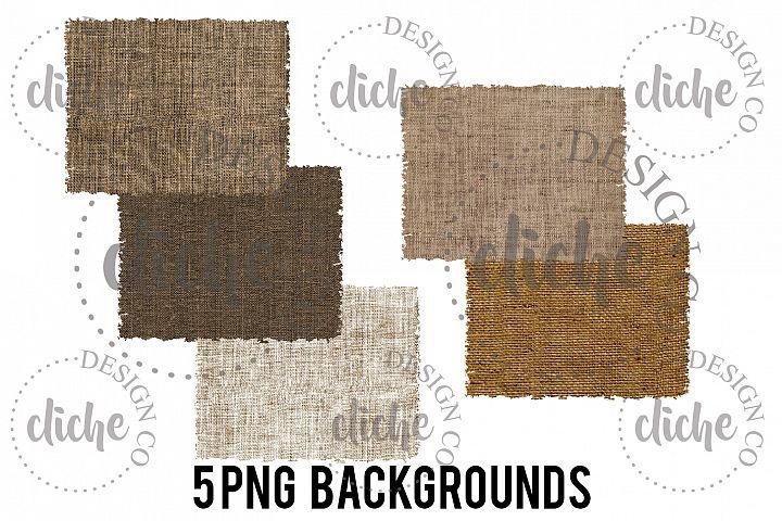 Burlap Sublimation Design Background Bundle