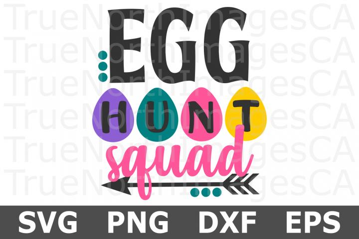 Egg Hunt Squad - An Easter SVG Cut File