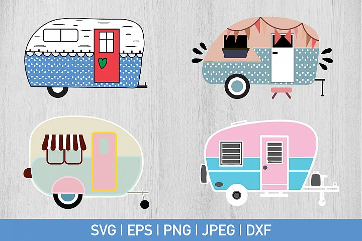 Camper Bundle Svg
