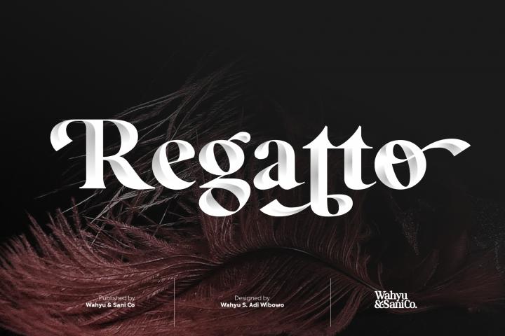 Regatto | Venetian Style Font