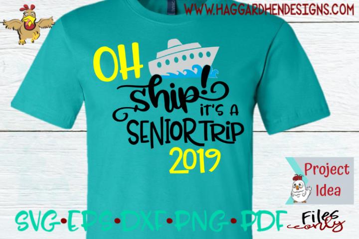 Oh Ship Its a Senior Trip