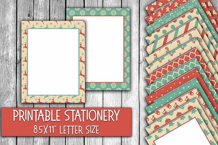 Winter Wonderland Christmas Stationery Paper