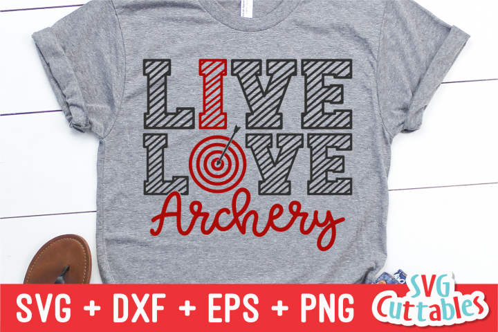 Live Love Archery | SVG Cut File