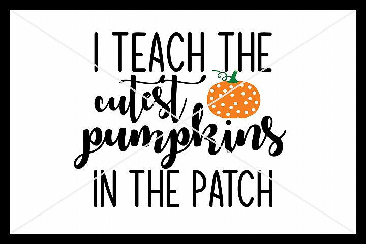 Cutest Pumpkins SVG, Silhouette Cameo, Cricut, Cut File
