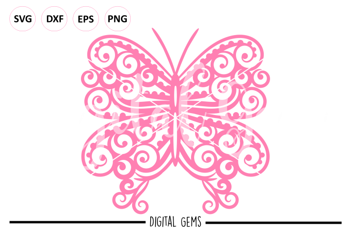 Butterfly SVG EPS DXF PNG file