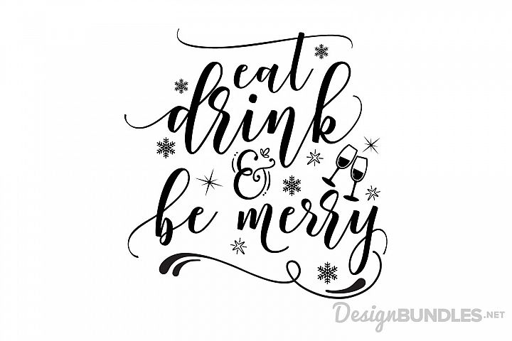 Eat, Drink and Be Merry example 1
