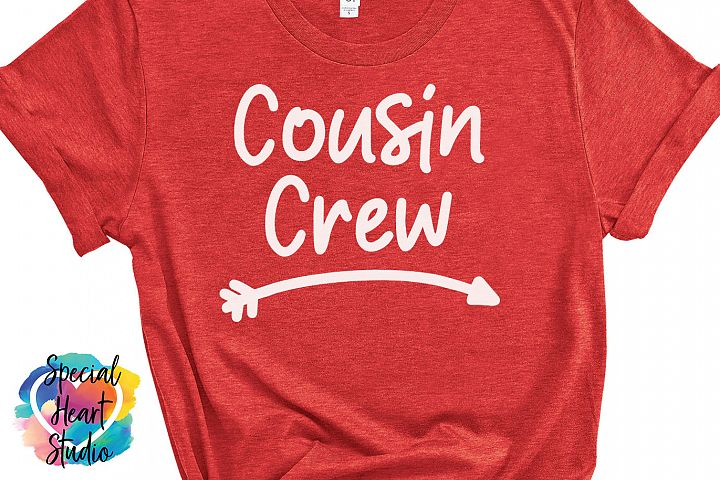 Cousin Crew - Family SVG