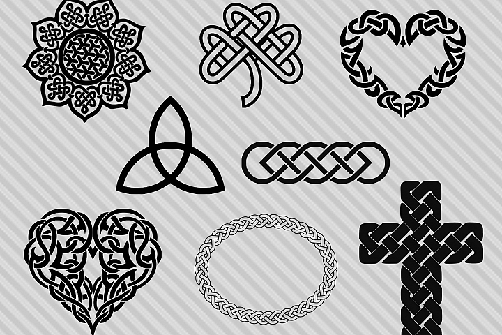 Celtic svg bundle, celtic clipart, dxf