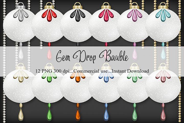 Gem Drop Bauble