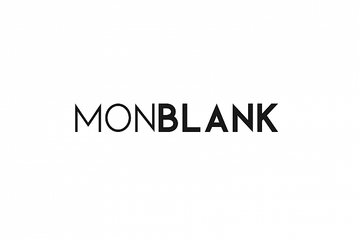 Monblank. Sans serif family