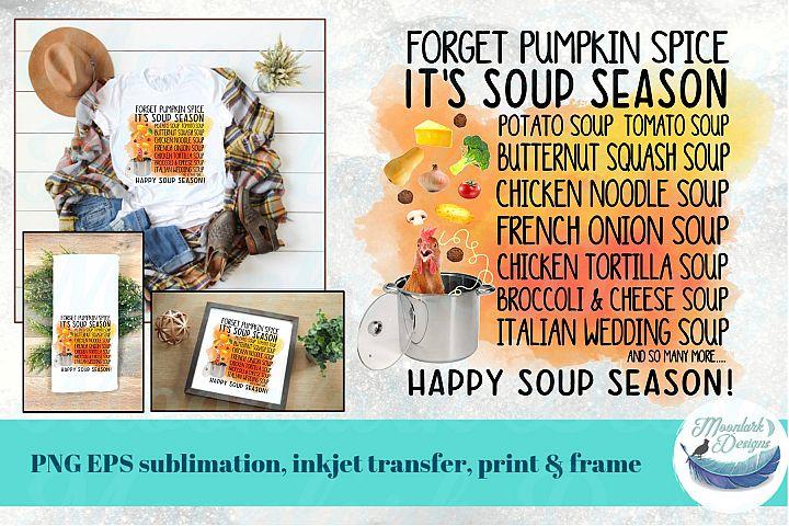 Forget Pumpkin Spice. Its Soup Season! | chicken noodle PNG