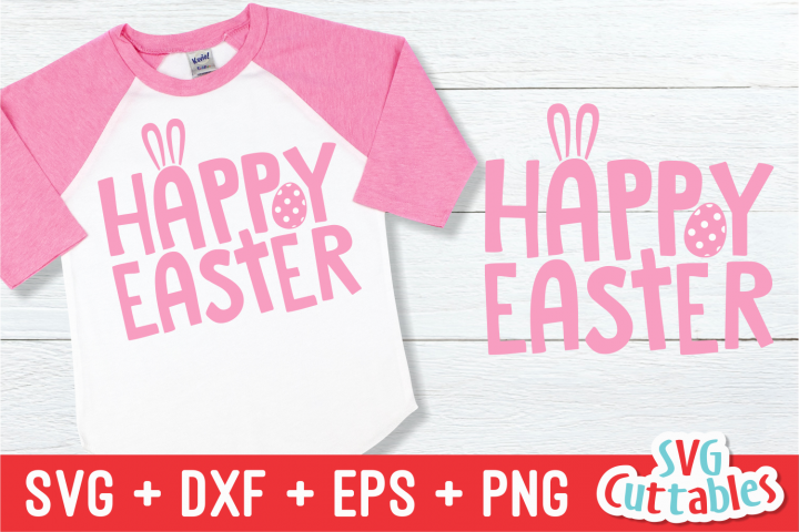 Happy Easter| Easter svg Cut File