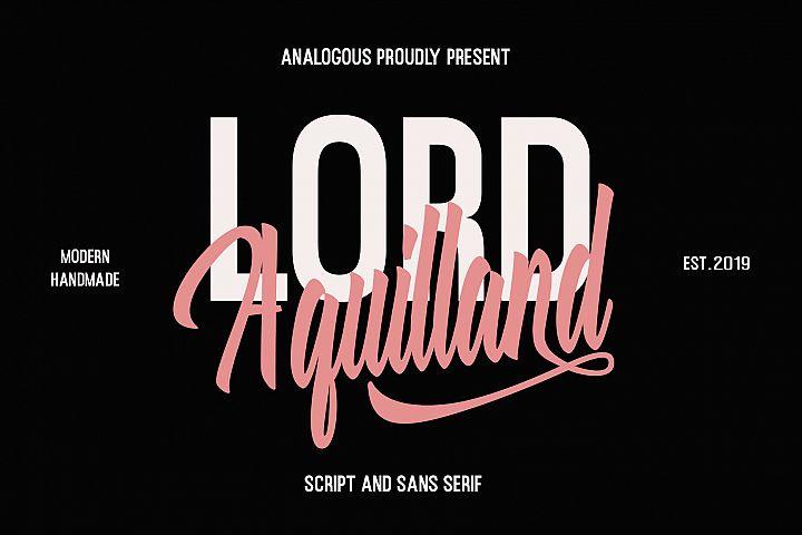 Aquilland - Font Duo