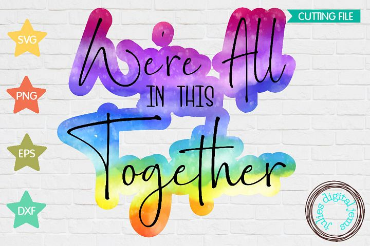 Were All in This Together Health Care Sublimation PNG