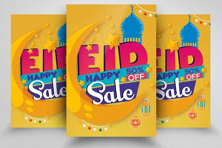 Eid Sale Offer Promotion Flyer