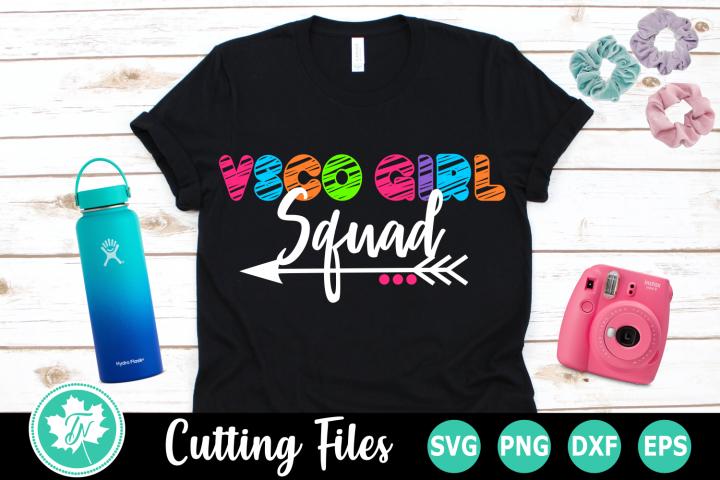 VSCO Girl Squad - A VSCO SVG Cut File