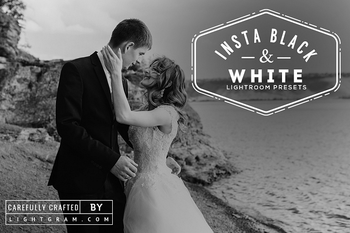 INSTA B&W Lightroom Presets