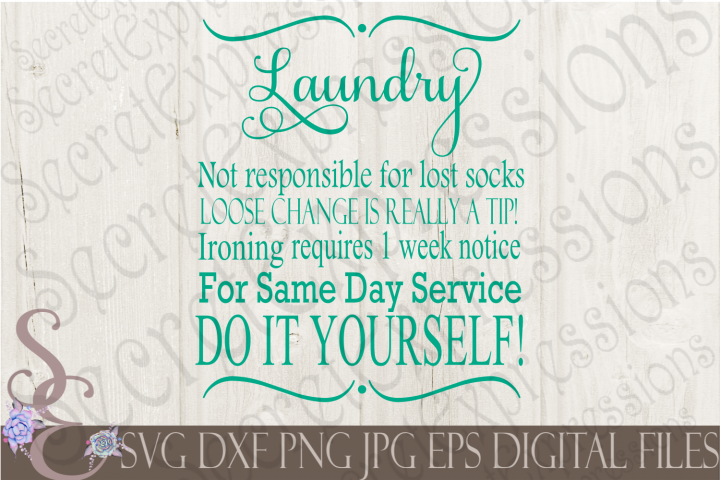 Laundry - Same Day Service Do It yourself